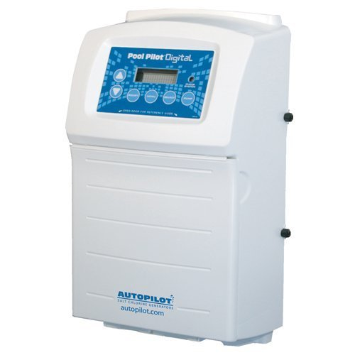 Aqua Cal Autopilot Pool Pilot Digital Chlorine Generator Salt Water System - up to 20,000 Gallons