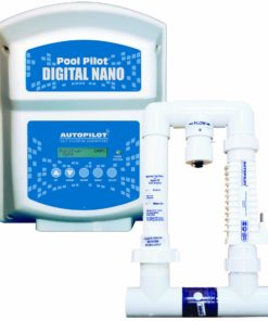 AquaCal Autopilot DN1 Digital Nano 115-volt Salt Chlorine Generator for Pools, 22000-Gallon