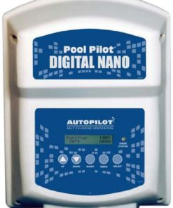 AquaCal Autopilot DN2 Digital Nano 220-volt Salt Chlorine Generator for Pools, 22000-Gallon