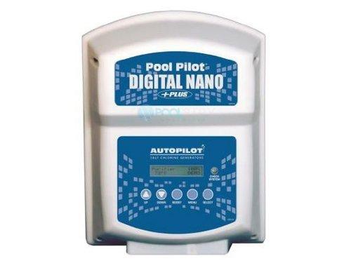 AquaCal Autopilot DNP1 Digital Nano Plus 115-volt Salt Chlorine Generator, 28000-Gallon