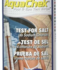 AquaChek 561140A Salt Water Swimming Pool Test Strips - White