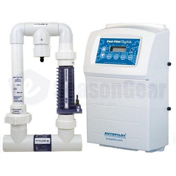 Autopilot DIG-15 Pool Pilot Digital Salt Chlorine Generator, DIG220_94115C_APK0004
