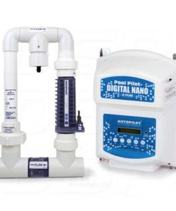 Autopilot DNP2 Pool Pilot Digital Nano Plus Salt Water Chlorine Generator 220 V with RC28 Manifold