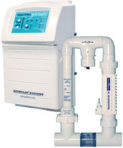 AutoPilot ST2SC48SUS 110/220-Volt Digital Chlorine Generator with Super Cell-48 Cell and Manifold Assembly Complete