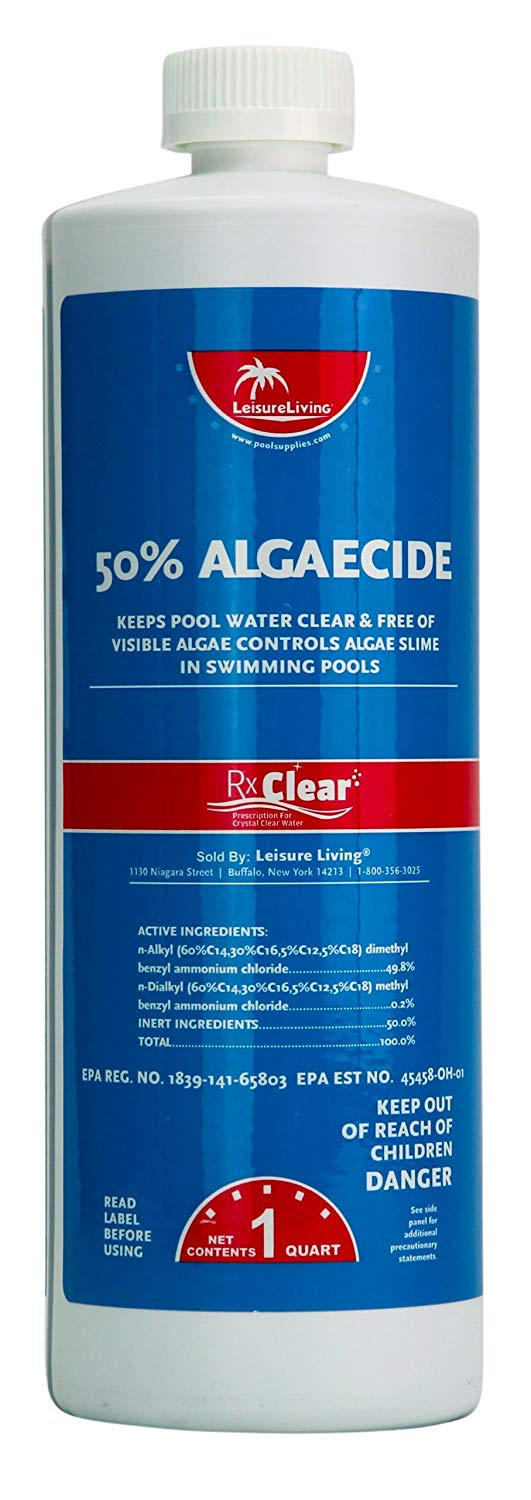 Rx Clear Swimming Pool Salt Water Generator Opening Kit | Above or In-Ground | Up to 30,000 Gallons of Water