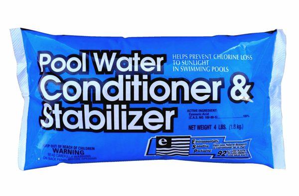 AQUA BASICS 1327 Pool Water Conditioner Bag, 4-Pound