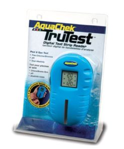 Aquachek 2510400 Trutest Digital Pool Spa Test Strip Reader with 125 Free Strips