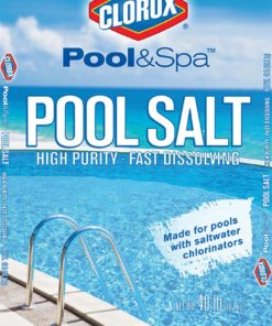Clorox 81040CLX Premium Pool Salt, 40lb White