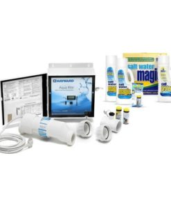 Hayward Aqua Rite System AQR15 + Salt Water Magic Chemical Kit
