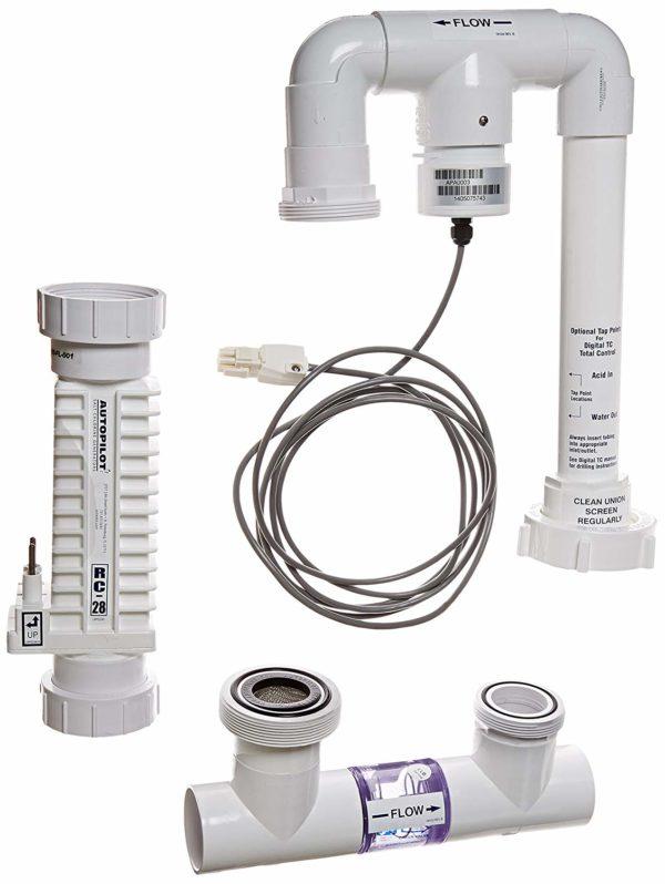 AquaCal Autopilot DNP2 Digital Nano Plus 220-volt Salt Chlorine Generator, 28000-Gallon