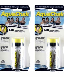 AquaChek 561140-02 White Salt Test Strips (2 Pack)