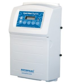 Aqua Cal Autopilot Pool Pilot Digital Chlorine Generator Salt Water System - up to 20,000 Gallons