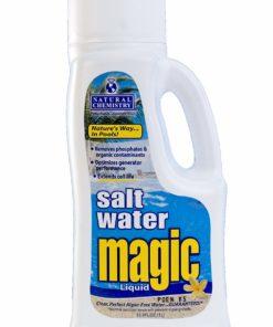 Natural Chemistry 07402 Pool Salt Water Magic Liquid, 1-Liter