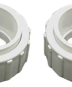 Hayward 2-Inch Union Nut Tailpiece Salt Generator Pool Replacement (2 Pack)