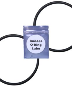 BadAss Pool Supply 521147 (Pack of 2) Intellichlor Salt Chlorine Generator, IC Series Union Replacement O-Rings with Lube