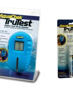 Aquachek 2510400 Trutest Digital Pool Spa Test Strip Reader with 125 Free Strips