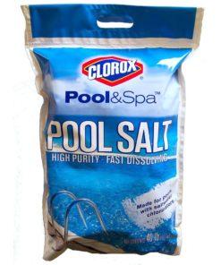Clorox 81040CLX Pool Salt Bag 40 lb. (Pack of 2), White