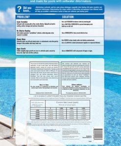 Clorox 81040CLX Premium Pool Salt, 40lb White