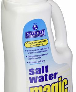Natural Chemistry 7402 1 L Pool Salt Water Magic Liquid