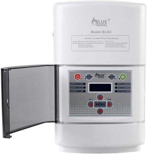 BLUE WORKS Salt Water Pool Chlorine Generator System BLSC Chlorinator 3