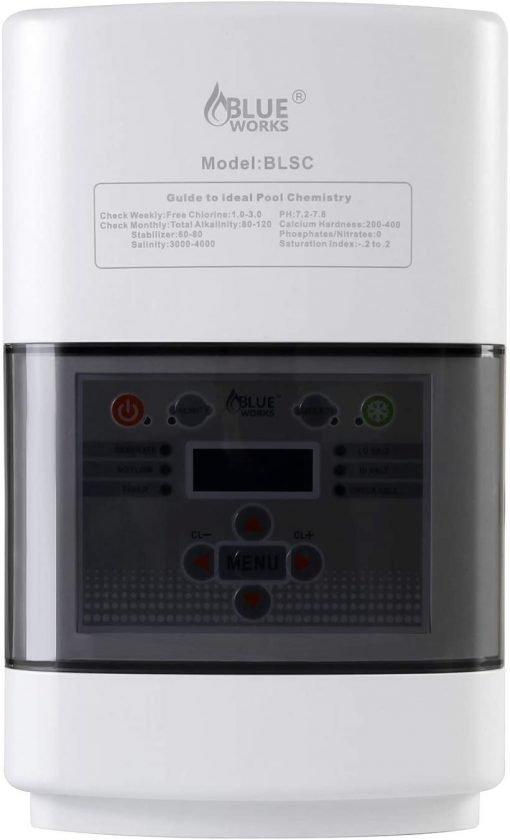 BLUE WORKS Salt Water Pool Chlorine Generator System BLSC Chlorinator 4