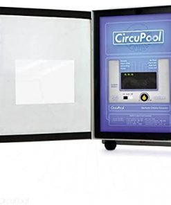 Circupool Universal40 Saltwater Chlorinator - Complete System with 40k-Gallon Max Cell - Compatible with Hayward Plumbing. 2