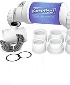 Circupool Universal40 Saltwater Chlorinator - Complete System with 40k-Gallon Max Cell - Compatible with Hayward Plumbing. 3