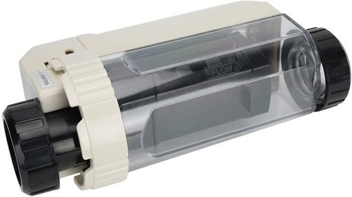 Deror 16g-h Pool Salt Chlorinator,Saltwater Chlorine Generator Electrolysis Salt Chlorinator for Pool Hot Tub Spa 100‑240V 8